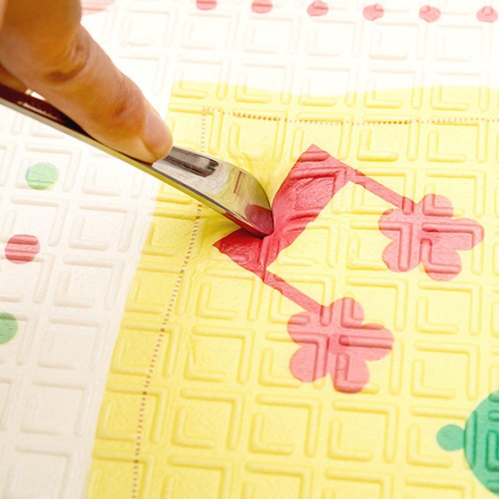 Tapis de jeu pour bébé Puzzle tapis de bébé mousse épaissi tapis de jeu salle ramper tapis pliant tapis de bébé tapis de sol antidérapant 150*200*1CM - 5