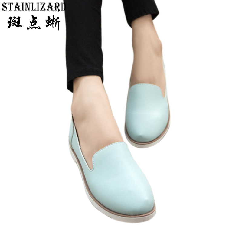 Hot Sales 2016 Spring New Western Wind Retro Little White Woman Flats College Wind Women Ladies Girls Shoes Free Shipping ST180 2018 new arrival luxury handbags women bags designer genuine leather shell totes fashion single shoulder bag lady handbag