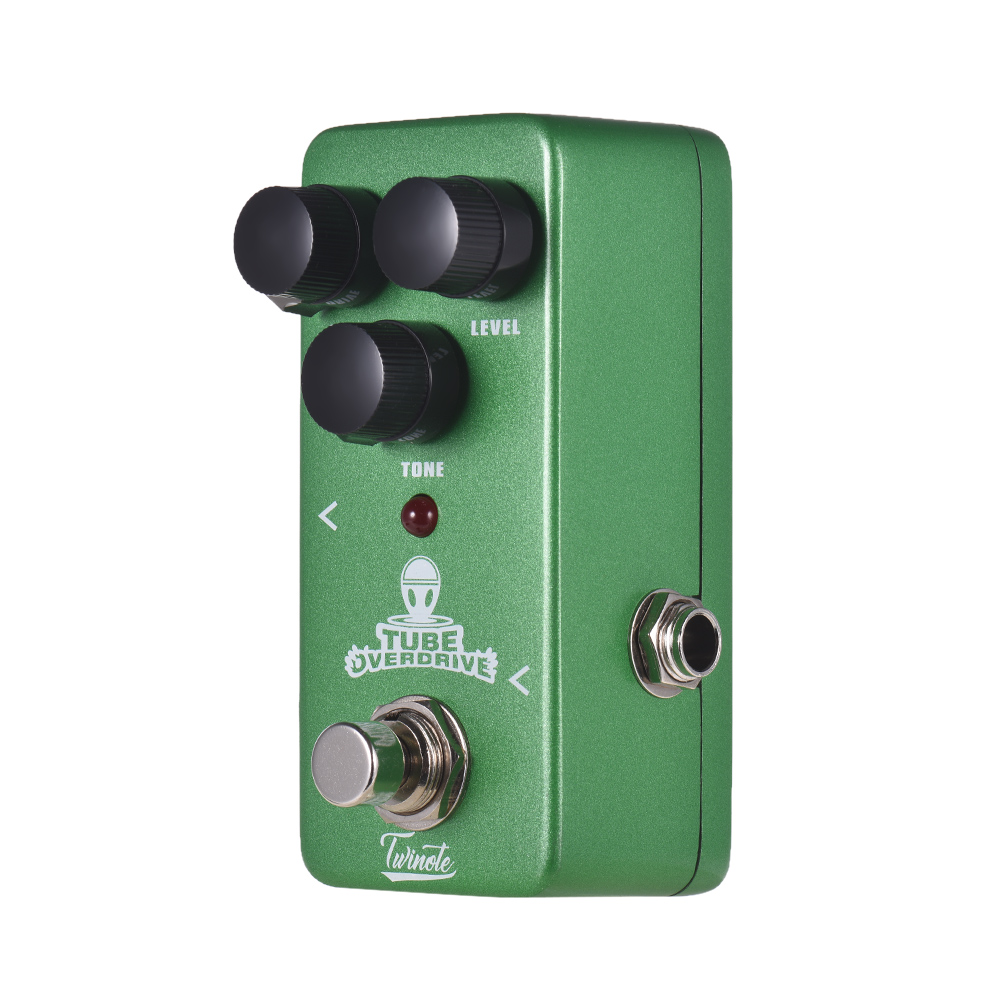 twinote tube overdrive mini analog overdrive guitar effect pedal processsor full metal shell. Black Bedroom Furniture Sets. Home Design Ideas