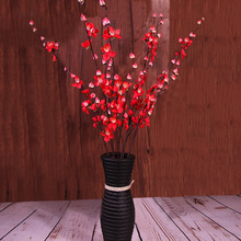 Klonca Chinese-style Luxury Silk Flower 90cm 1pc Fake Flower Plum Blossoms Artificial Flower for Wedding Home Decoration
