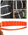 10 PCS/Set Car Mini Plastic Winter Tyre Chains wheels Snow Chains For Cars/Suv Tire Universal Anti-Skid Autocross Outdoor 90CM