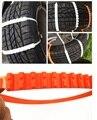 10 Unids/set Mini Coche De Plástico Cadenas de Neumáticos ruedas de Cadenas Para La Nieve de Invierno Para Coches/Neumático Suv Universal Antideslizante Autocross Exterior 90 CM