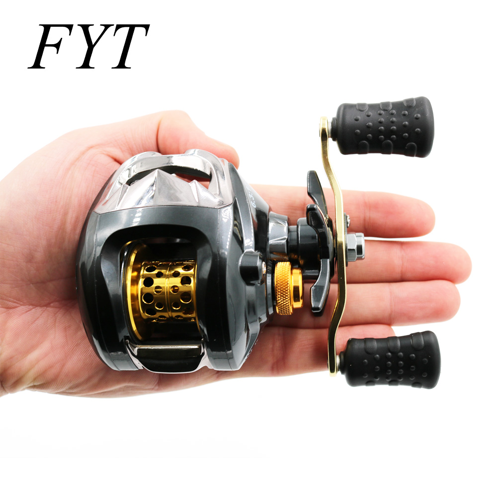 12+1 Bearings Waterproof Left / Right Hand Baitcasting Fishing Reel High Speed Fishing Reel With Magnetic Brake System LG200