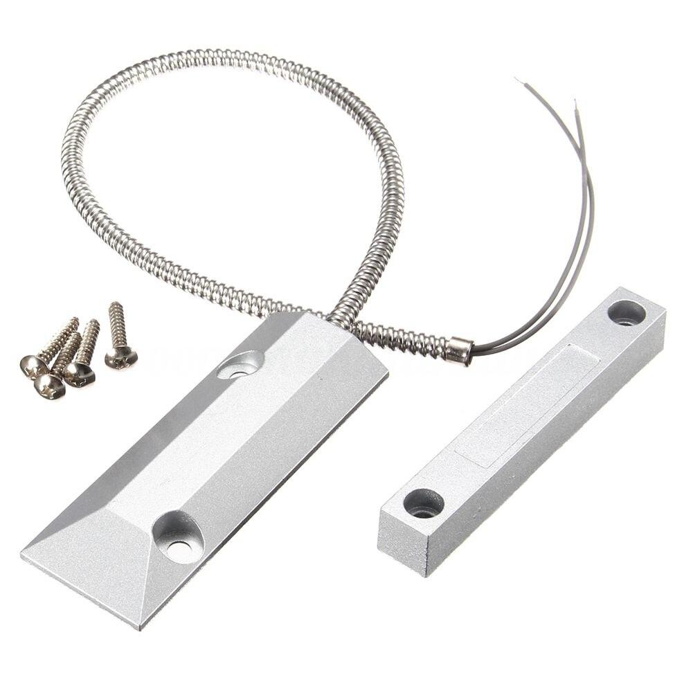 MOOL 2Pcs Alarm Magnetic Reed Switch Detector Sensor Roller Shutter Garage DoorMOOL 2Pcs Alarm Magnetic Reed Switch Detector Sensor Roller Shutter Garage Door