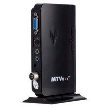 External TV Tuner AV To VGA MTV Box Tuner Receiver HD LCD CR