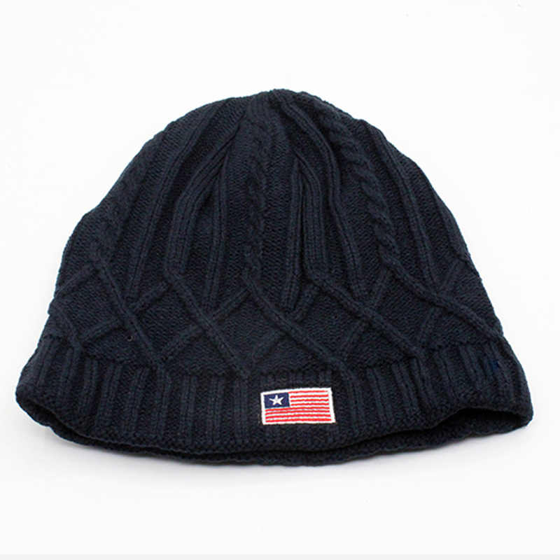 b26dbfdc446bfc ... Beanies Winter Hat Brand Knitted Caps Skullies Winter Hats For Men  Women Cap Warm Thicken Bonnet ...