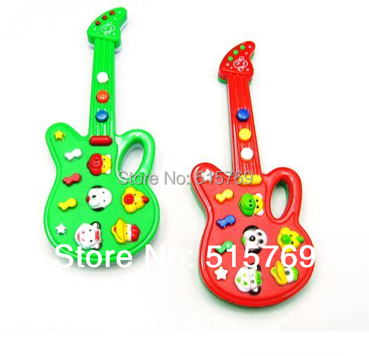 Free shipping Electronic music guitar reminisced toys night market toy