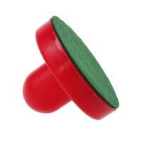 4 шт. воздушный хоккейный стол Goalies с 4 шт. шайба Войлок молоток толкача сцепление цвет красный