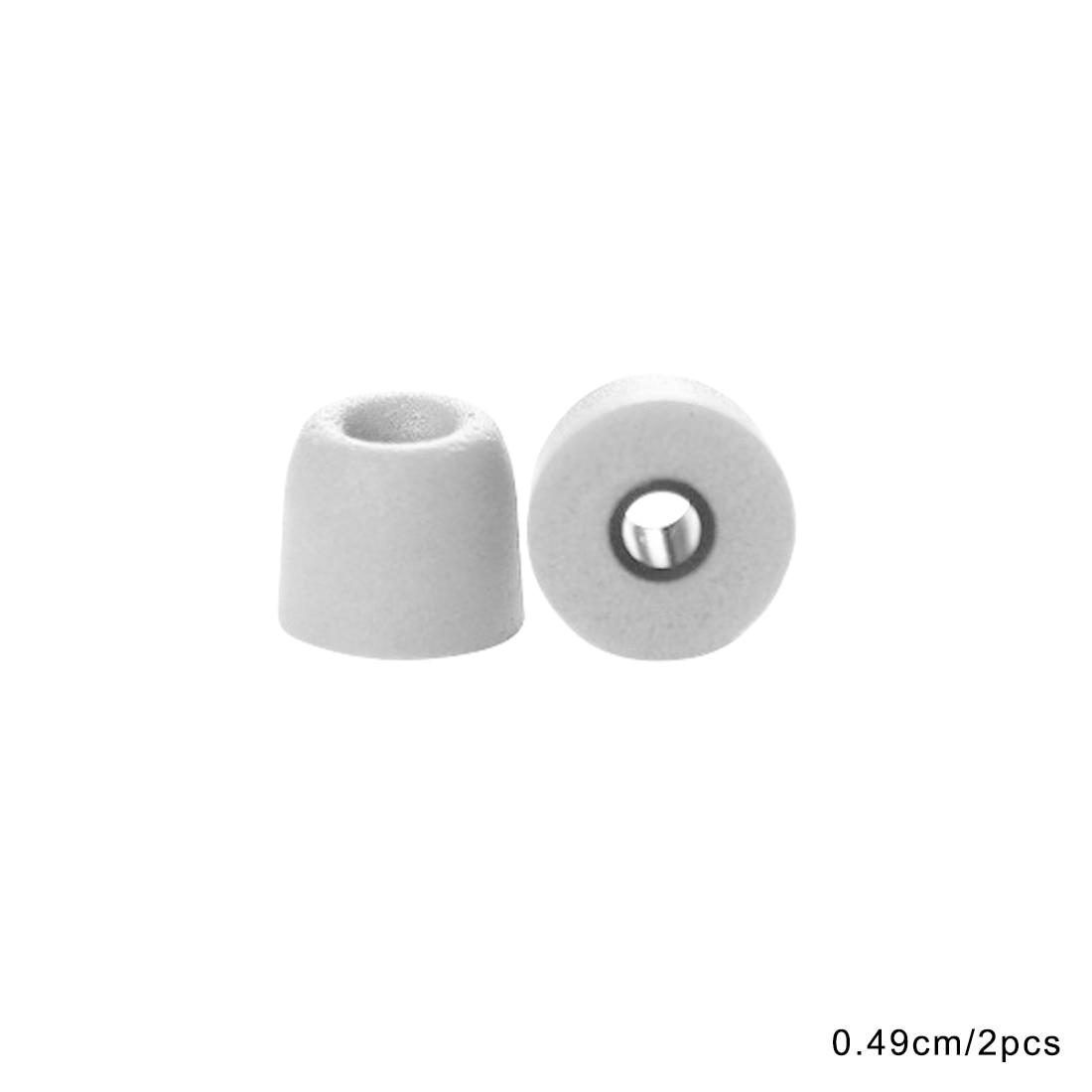 Marsnaska 1 pair ForT100 T400 Earphone tips Memory Foam Sponge ear pads for headphones 4.9 mm Caliber