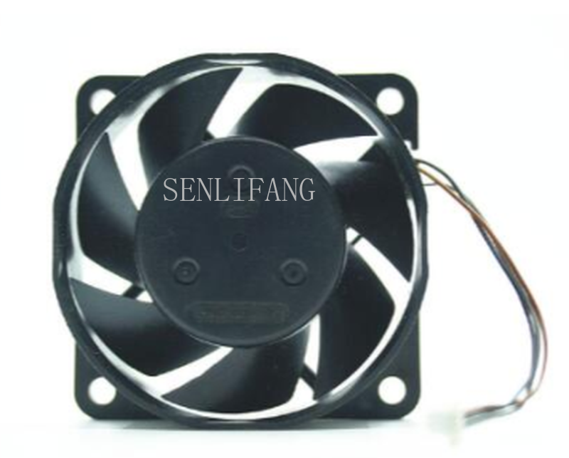 Free Shipping Original  2408ML-04W-B59 DC12V 0.14A 6020 3 Line Projection Fan