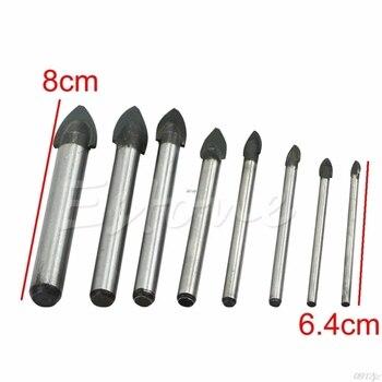 цена на 3/4/5/6/8/10/12/14mm Porcelain Spear Head Tile Glass Ceramic Marble Drill Bits #319
