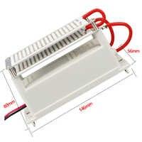 Générateur d'ozone Portable 220 V/110 V 10g générateur d'ozone purificateur d'air Ozon pour Machine à ozoniseur domestique dissolvant d'odeur