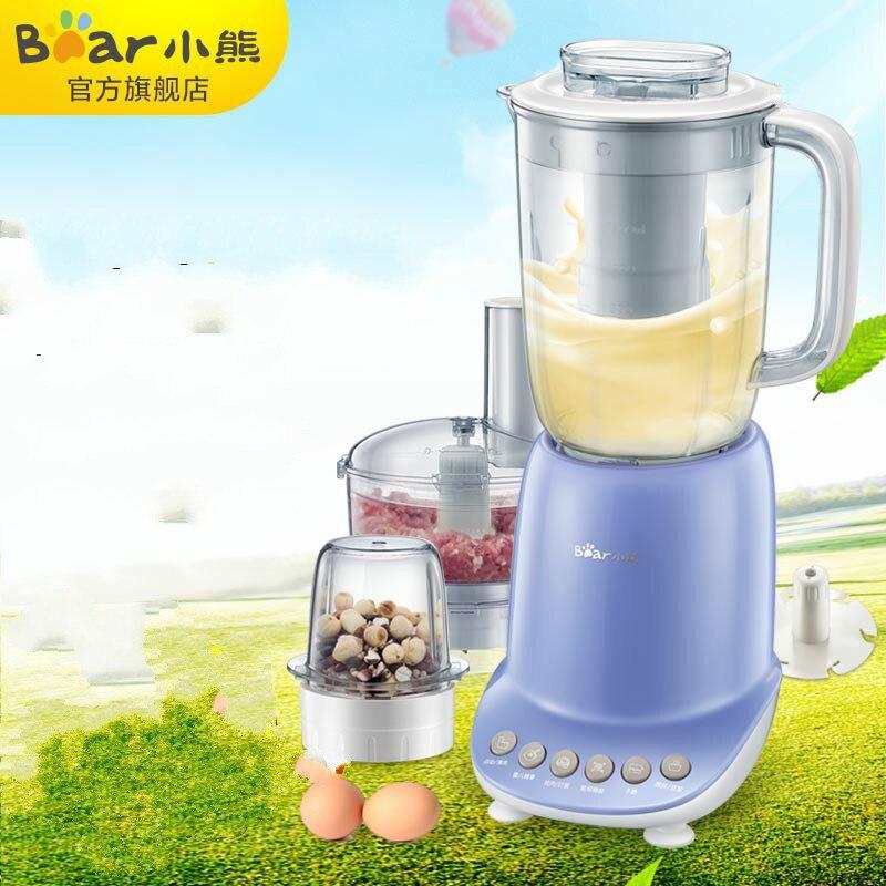 Bear Multifunctional Cooking Machine Food Processor Blender, Home Intelligent Juice Grinder Soybean Milk LLJ-A12W8 wavelets processor