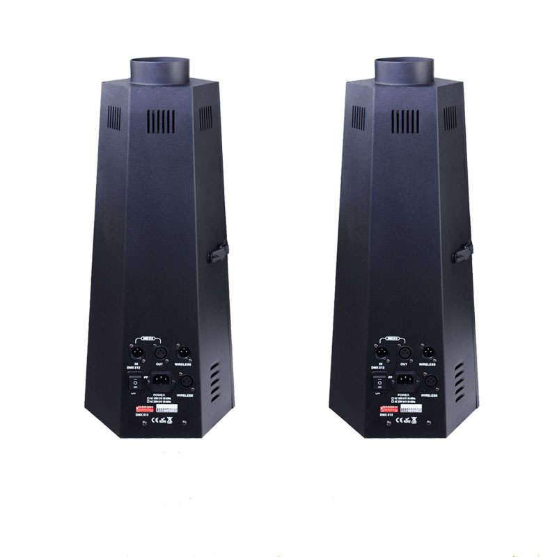 2 pieces/lot Stage DJ Fire Machine DMX Flame Projector Stage Effect Equipment DMX Power Switch Control