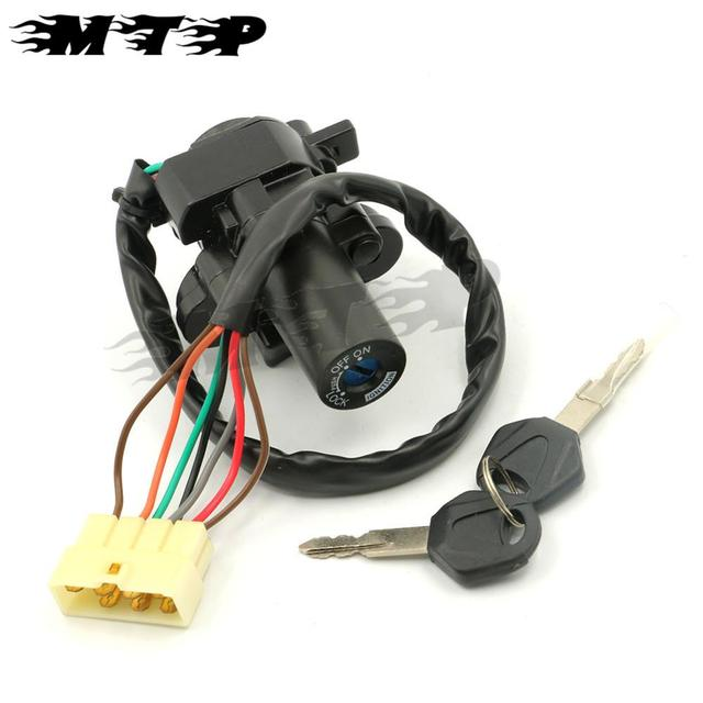 Aliexpress Buy Motorcycle part 7 wires Ignition Switch Lock – Kawasaki Ignition Switch Wiring