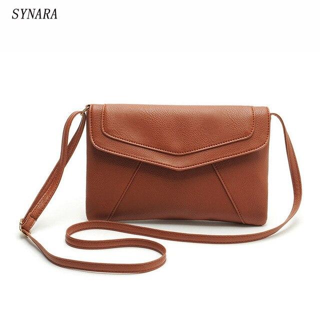 8315ab7438 Vintage casual sacs à main en cuir nouveau embrayages dames parti bourse femmes  sac bolsos rossbody