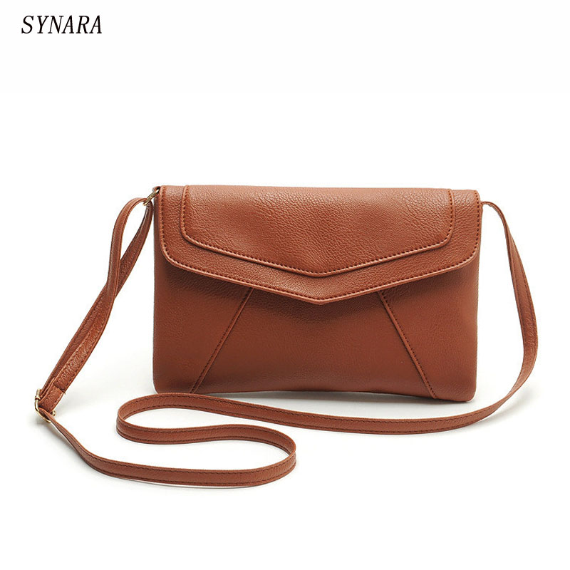 vintage casual leather handbags new clutches ladies party purse  women bag bolsos  rossbody messenger shoulder school bags