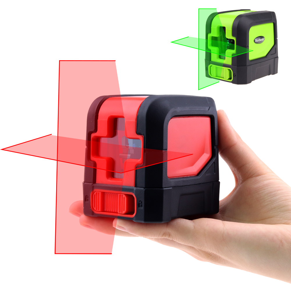 Mini Cross Line laser level Self Leveling Vertical Horizontal Lasers Multifunctional Clamp Red or Green Beam