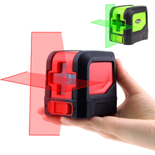 Mini Cross Line laser level Self-Leveling Vertical & Horizontal Lasers Multifunctional Clamp Red or Green Beam Laser Level Meter