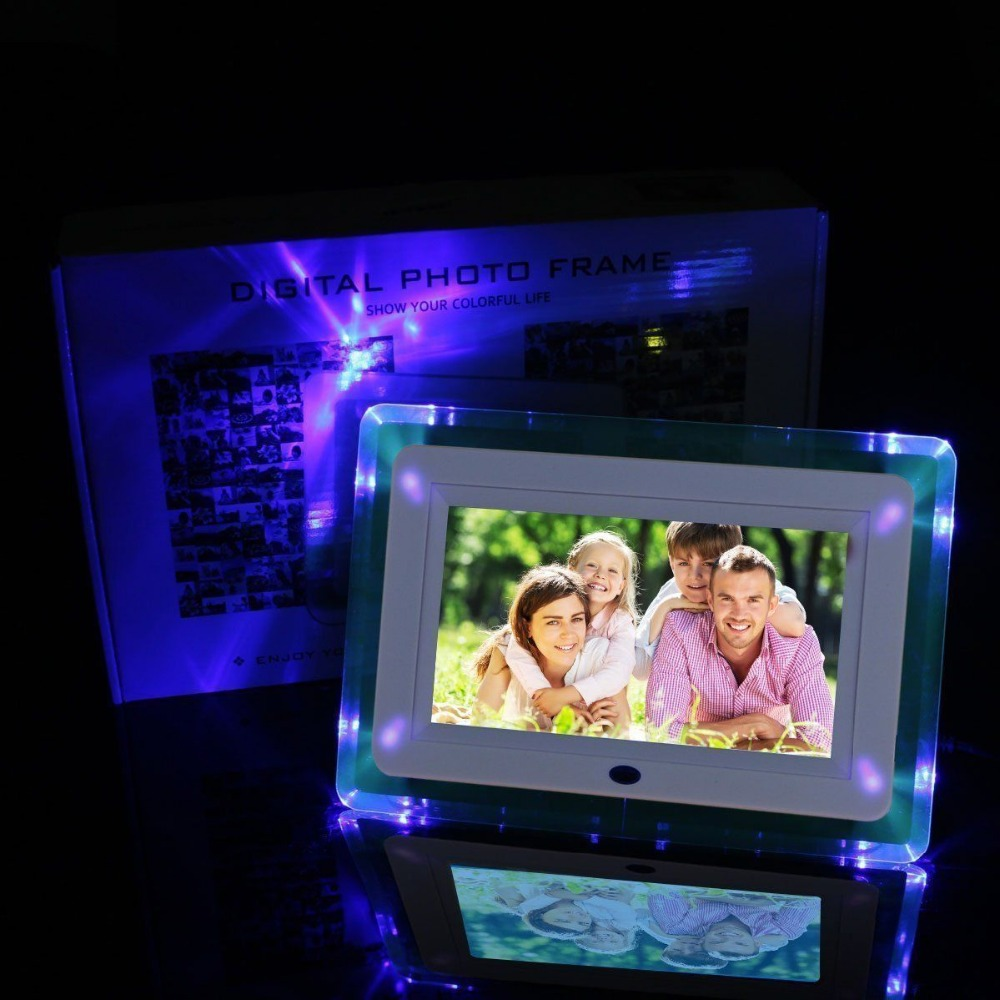 7 Inch Digital Photo Frame Hd Electronic Photo Album Ultra