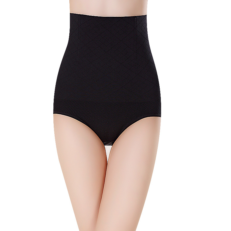 Postpartum seamless high waist abdomen plastic waist body shaping hip body pants soft postpartum body clothing shapewear