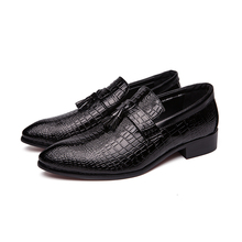 hot deal buy 2018spring and autumn men's business casual shoes breathable pointed shoes fashion office men's shoes