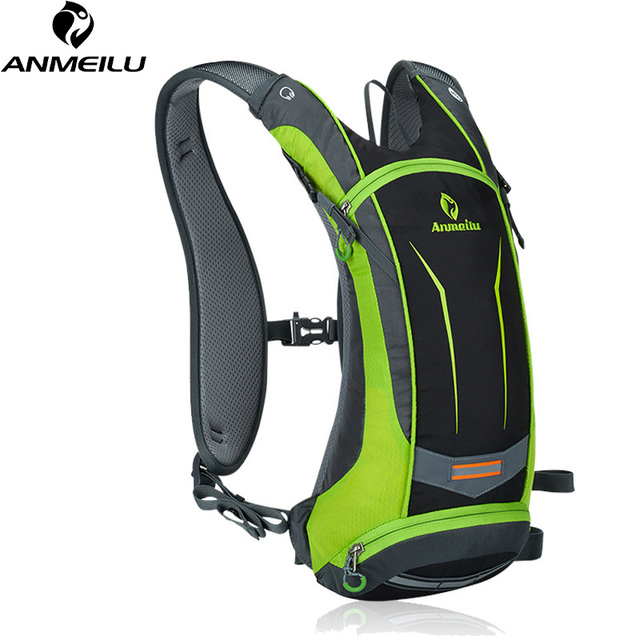 ANMEILU 8L Bicycle Rucksack,Waterproof Bike Backpacks for Cycling Camping Climbing,Small Hydration Backpack Bag No Water Bag