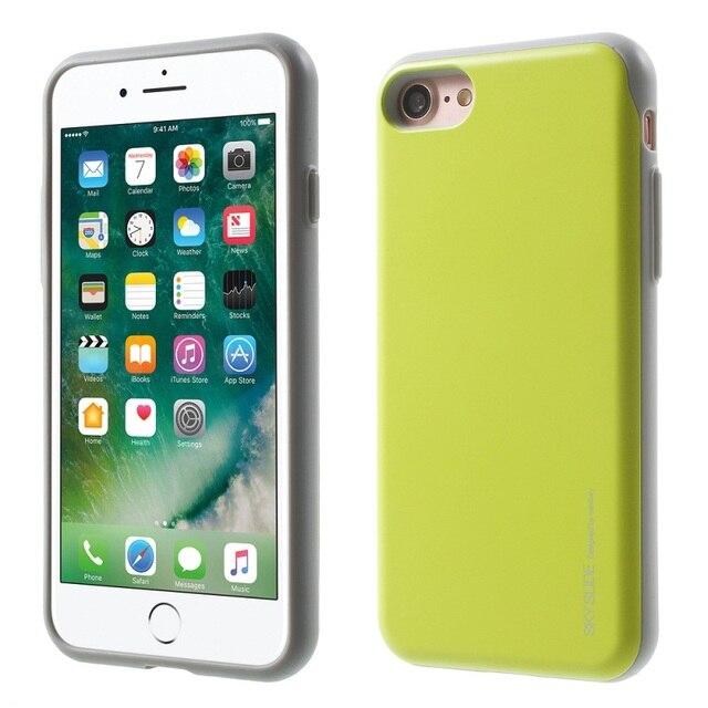 GOOSPERY cielo diapositiva ranura para tarjeta TPU a prueba de golpes para el Iphone 6 Iphone 6 6 plus 8 7 plus x XR Xs max Samsung S9 S9 plus Nota 8 S10 S10e