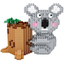2019 New LOZ Koala Model Assembly DIY Micro Bricks Educational Toys Pen Container Holder Diamond Building Blocks for Gifts Kids loz diamond blocks japan anime figure action ultraman tiga ultra man toys diy blocks bricks model building kits hero dolls 9640