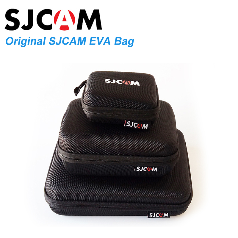 SJCAM bag Black Small / Middle / Large Accessories Collection Bag For SJCAM Sj6 Legend Sj7 Star SJ4000 Sj5000 M10 M20 cam new arrive sjcam sj7 star sj6 legend accessies 3 axis handheld gimbal for sjcam sj6 sj7 star wifi series cam