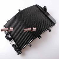 Aluminium Alloy Radiator For SUZUKI GSXR 600 750 2004 2005 K4 Black