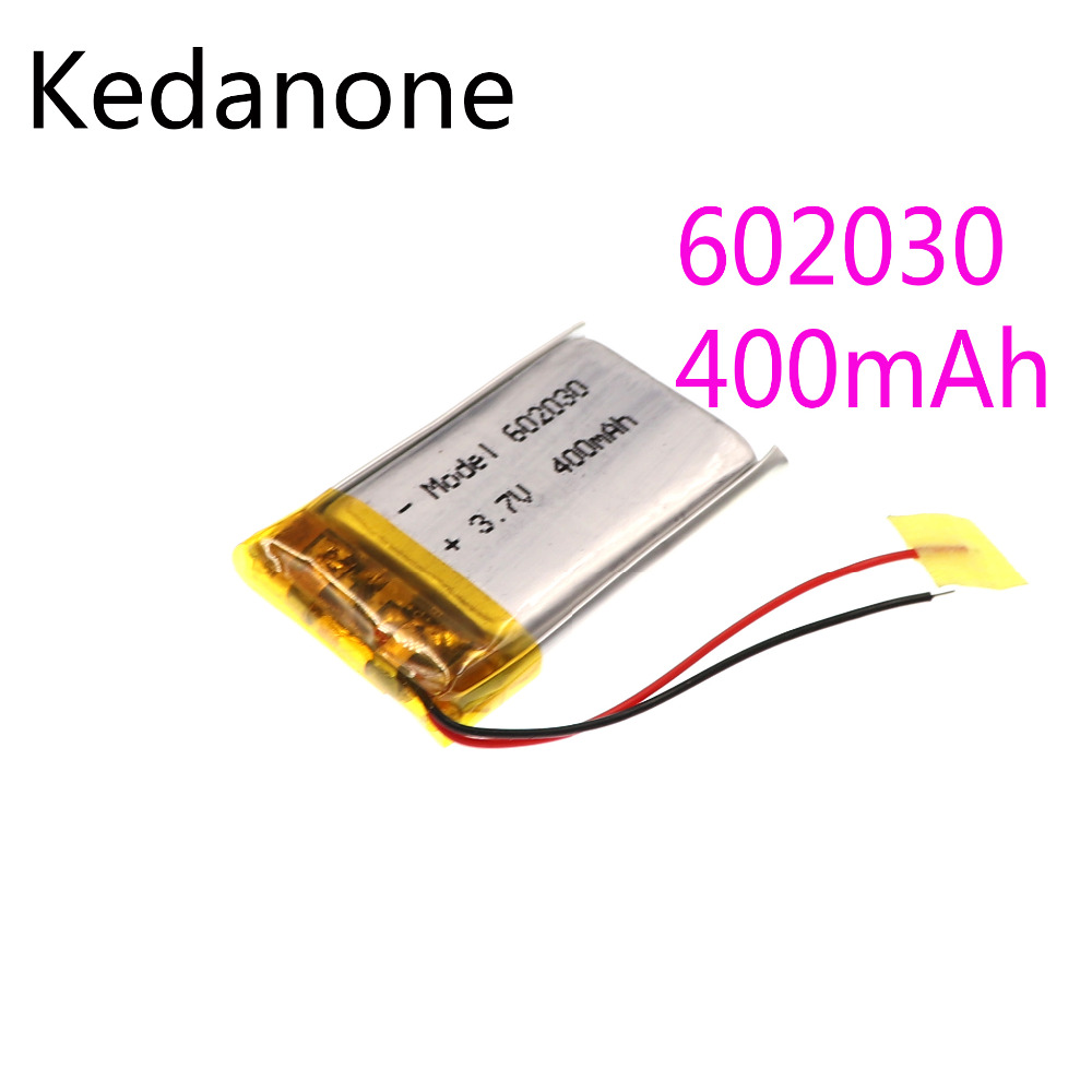 Kedanone 3.7 in the 400 much <font><b>602030</b></font> lithium polymer li ion lipo cells from lithium battery for laptop gps pda bluetooth speaker image