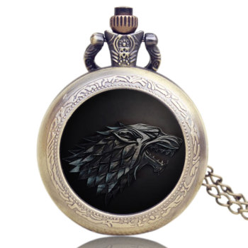 """The Song Of Ice And Fire"" Quartz Pocket Watch"