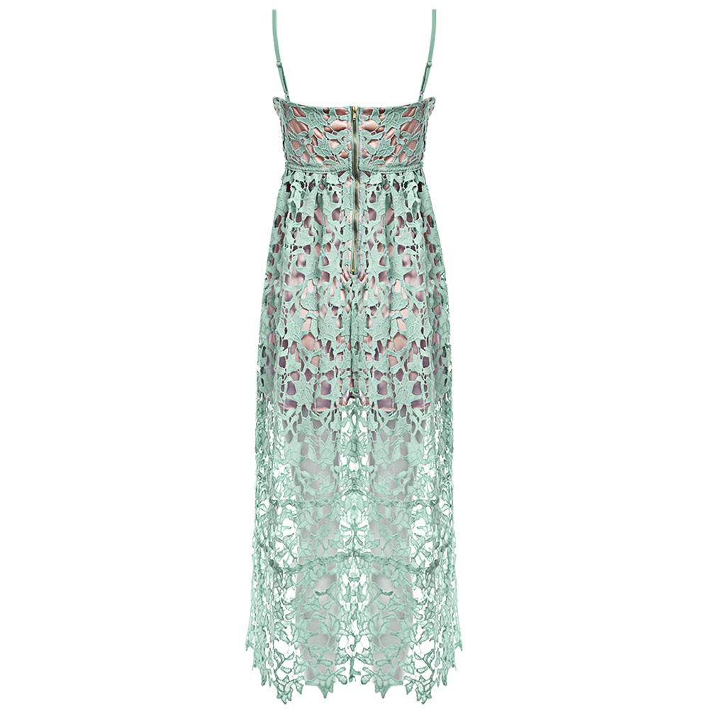 VESTLINDA Spaghetti Strap Backless Hollow Out Crochet Lace Dress Women Vestidos Mujer Robe Femme 2017 Summer Sexy Maxi Dress 23