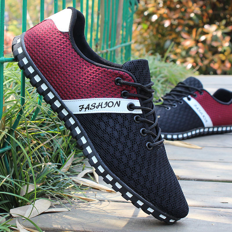 Men/'s Casual Breathable Lace SWIM Mesh Driving Loafers Shoes Fashion