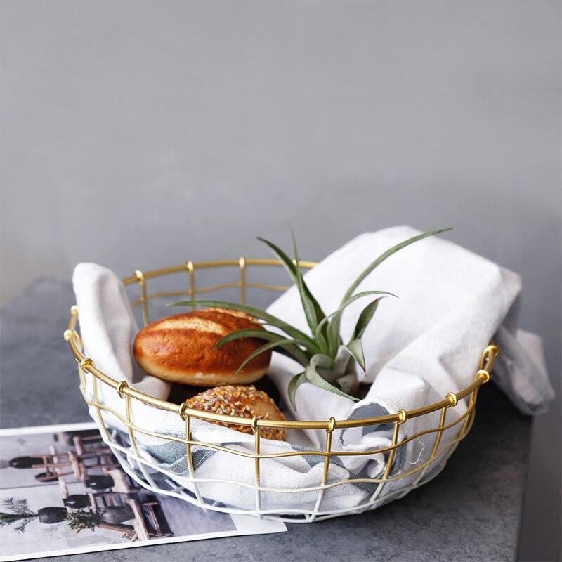 Gold weiß Lebensmittel obst metall Nordic Moderne küche brot ...