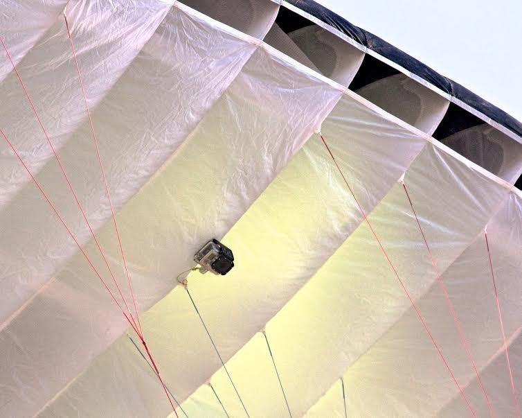 Action Camera Magnetic ( Paragliding / Paramotor ) Mount for Gopro Hero SJCAM Sport Cam Skydive Skydiving Kiteboarding paragliding paramotor fast big umbrella bag