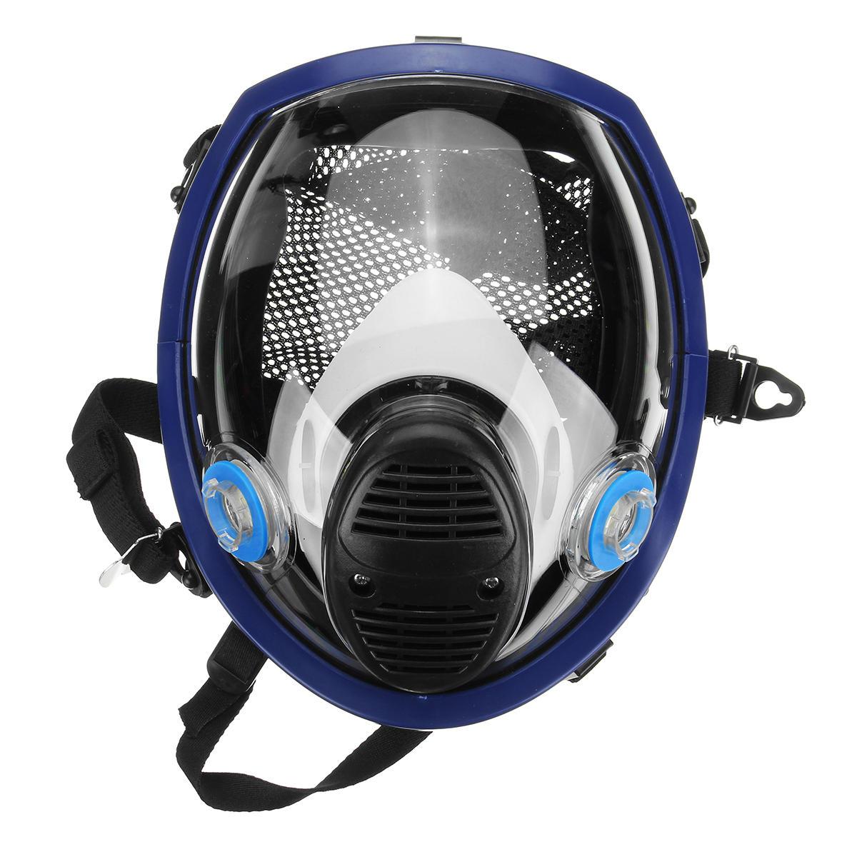 Анти туман электрическая маска + 2 шт фильтр бумага pm2.5 формальдегид активированный уголь пыль запах вторичного дыма Воздухопроницаемый - 2