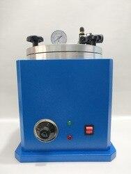 Nuevo inyector de cera al vacío cuadrado y equipo de inyección de cera para joyería