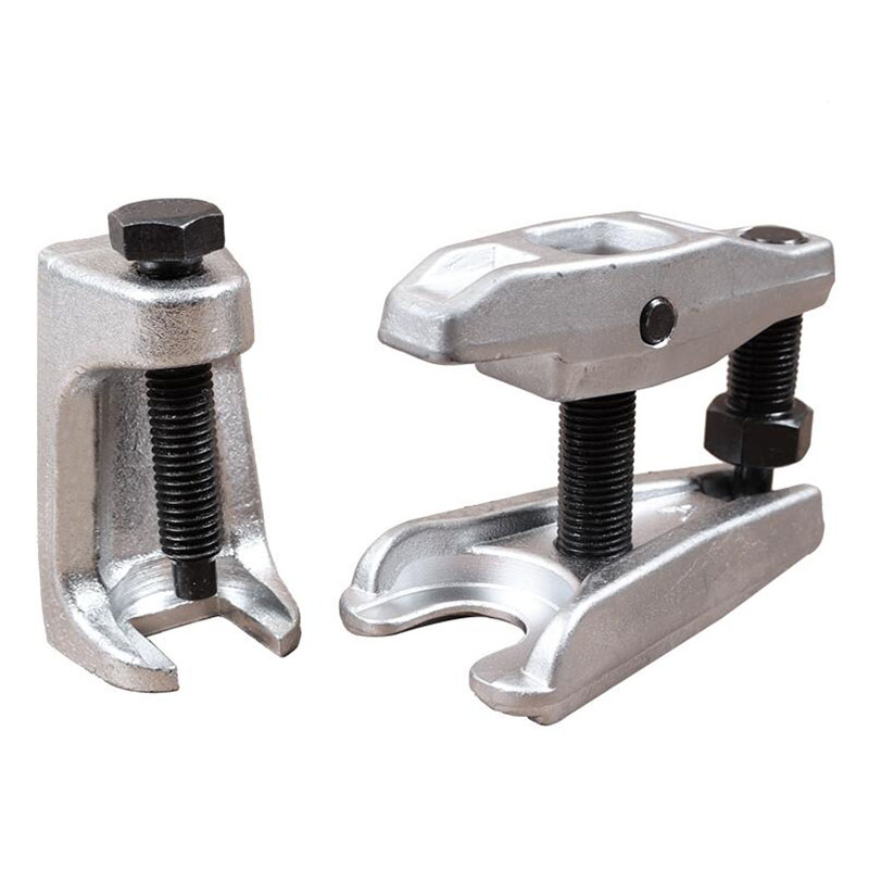 Adjustable Ball Joint Separator Car Ball Joint Puller Removal Tool 2pcs/lot Automoitve Steering System Tools Garage Work 32mm 45mm ball joint separator puller for audi bmw benz sport utility vehicle