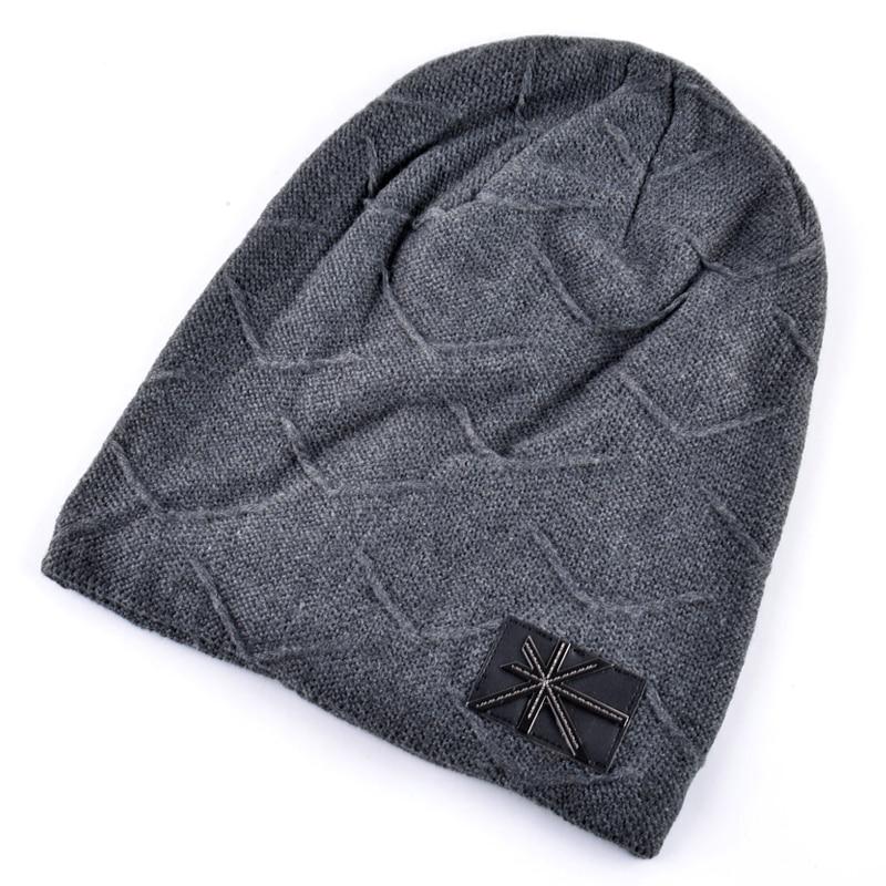 ... FLB Bone Mens Winter Hat Knitted Wool Beanies Men Hip-Hop CapTurban Caps  Skullies Balaclava  VBIGER Winter Hat Beanies Windproof Face Cover Mask ... 284e575940f0