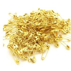 Prendedores para ropa de seguridad, clip, broche negro, dorado y plateado, clips de papel, abrazaderas chapadas en oro para oficina en casa, escuela, nuevos 1000 unids/lote
