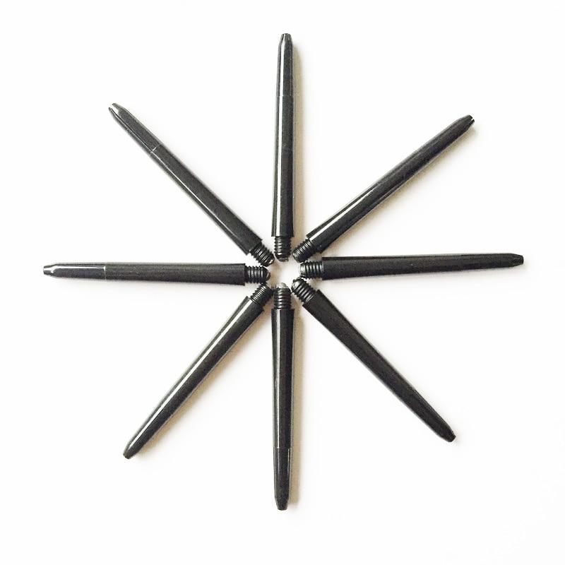 Details about  /Black 50pcs//lot Nylon Dart Shafts 2BA 48mm Screw Thread Plastic Dart Stems Da sI