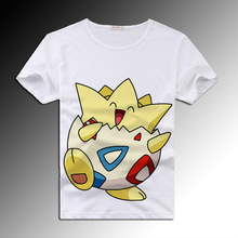 Pokemon Go T Shirt Men & Women Cotton Brand Clothing 3D Printed Cartoon Harajuku Kawaii T-shirt Homme High Quality Funny Tops