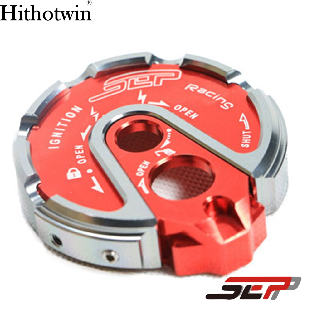 SEP Scooter Accessories CNC Aluminum Alloy Ignition Key Lock Cap Cover For YAMAHA BWS X 125 CYGNUS 125 GTR 125 SMAX 155 SMAX155 keoghs real adelin 260mm floating brake disc high quality for yamaha scooter cygnus modify