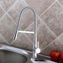 Бесплатная Доставка! 100% новый. Kitchen mixer faucet. Basin кран. кухни. оптовая и розничная роскошная кухня латунь tap.1pcs/lot