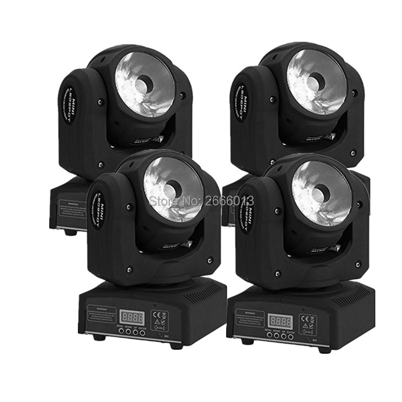 4pcs/lot 60w led RGBW 4IN1 beam moving head light super bright LED DJ Spot Light DMX512 control linear beam stage effect lights niugul dmx stage light mini 10w led spot moving head light led patterns lamp dj disco lighting 10w led gobo lights chandelier