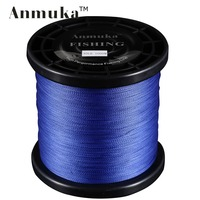 1000M Anmuka Brand Top Series Japan Multifilament PE Braided Fishing Line 4 Weaves Wires Corp Fishing