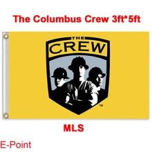 1 piece 144cm*96cm size MLS The Columbus Crew Flying flag B
