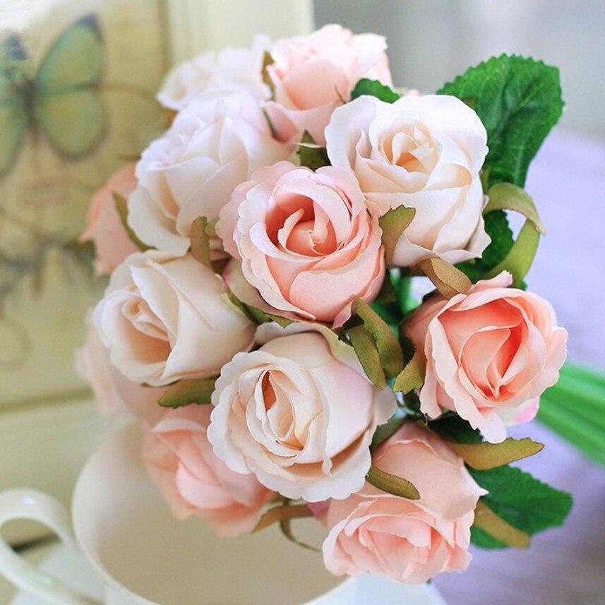 Coussin-référence cadeau d/'anniversaire-Coussin Fleurs Pétales Fleurs Couronne de bordure